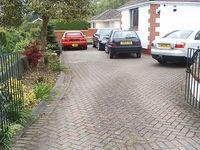 Driveway & patio cleaning crosby  liverpool . Pressure washing service image